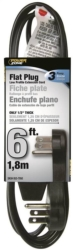 Powerzone OR932606 Flat Extension Cord