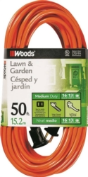 Woods 0723 SJTW Outdoor Extension Cord