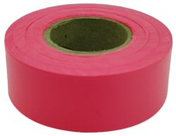 TAPE FLAG RED 1-3/16INX150FT