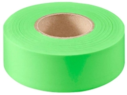 TAPE FLAG GRN 1-3/16INX150FT