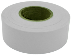 TAPE FLAG WHT 1-3/16INX300FT