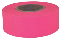 TAPE FLAG PINK 5M 1-3/16X150IN