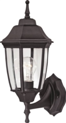 Boston Harbor HL-018B-P- BK Twin Pack Porch Light Fixture