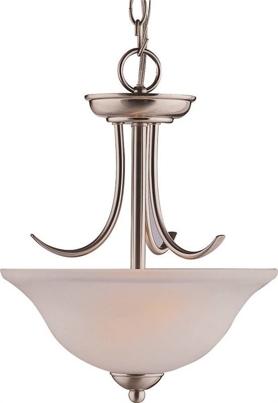 Boston Harbor A2242 3 Pendant Light Fixture 2 Lamp