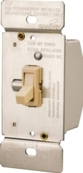 Cooper TI306-V-K Toggle Dimmer