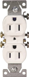 Cooper 270W Grounded  Duplex Receptacle