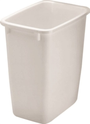 Rubbermaid FG280500WHT Rectangular Waste Basket