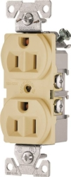 Arrow Hart BR15V  Duplex Receptacle