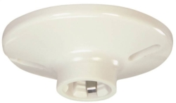 Cooper S1174W-SP Ceiling Receptacle Lampholder