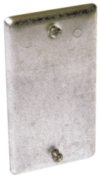 Hubbell 860 Raised Blank Utility Box Cover