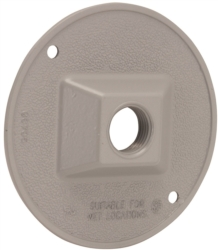Hubbell 5193-0 3-Hole Cluster Lampholder Cover