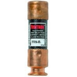 Fusetron FRN-R Cartridge Low Voltage Time Delay Fuse