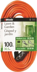 Woods 0724 SJTW Outdoor Extension Cord