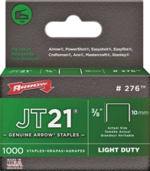 JT21 276 Flat Crown Staple