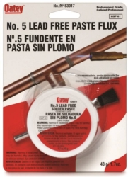 Oatey 53017 Lead Free Soldering Paste Flux