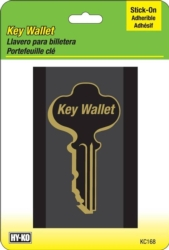 Hy-Ko KC168 Stick-On Key Wallet
