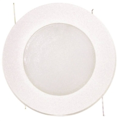 Powerzone TM14 Flat Opal Recessed Light Shower Trim