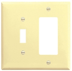 Arrow Hart 2153V-BOX Combination Wall Plate