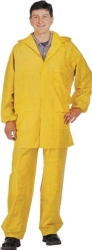 RAINSUIT PVC 2PC YELLOW LARGE