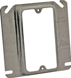 Raco 8768 Mud-Ring Raised Square Electrical Box Cover