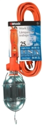 Coleman 681 Work Light with Outlet and Metal Guard