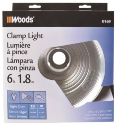 Coleman 169 Clamp Light