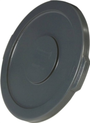 Brute 263100GRAY Round Flat Trash Can Lid