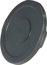 Brute 265400GRAY Round Flat Trash Can Lid