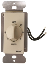 Woods 59718 In-Wall Indoor Spring Wound Timer