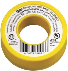 Oatey 31403 Gas Line Thread Tape