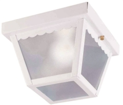 Boston Harbor 6276WH3L Impact Porch Light Fixture