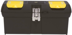 Stanley 2000 Tool Box With Tray 8.19 in W x 16 in D x 7.21 in H