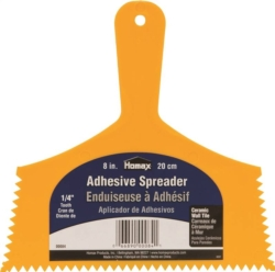 Homax 84 Adhesive Spreader Knife With 1/4 in Notch