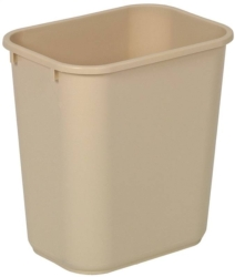 Continental 2818BE Rectangle Wastebasket