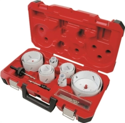 Ice Hardened 49-22-4105 Bi-Metal Electrician Hole Saw Kit