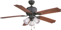 Boston Harbor AC362+3L-NI-3L Ceiling Fan