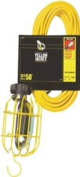 Coleman 2948 Work Light with Outlet and Metal Guard