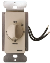 Woods 59715 In-Wall Indoor Spring Wound Timer