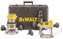 Dewalt DW618PK Fixed Base Corded Router Kit