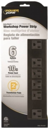 Powerzone OR801120 Power Outlet Strip
