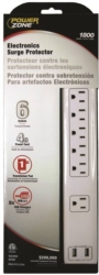 Powerzone OR505106 Surge Protector Strip