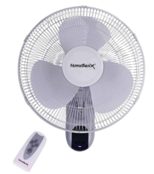 Homebasix FW40-S1 Oscillating Wall Mount Fan