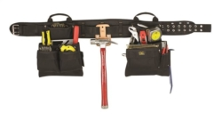 CLC Tool Works 5608 4-Piece Tool Belt