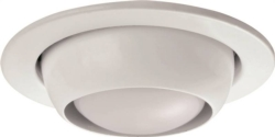 Powerzone TRIM205-WH (MTM4 Eyeball Recessed Light Trim
