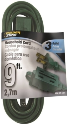 Powerzone OR780609 SPT-2 Extension Cord