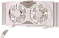 Homebasix LF-9W Reversible Window Fan