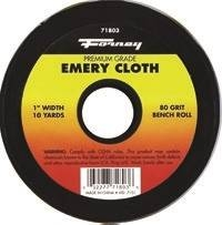 CLOTH EMERY 80GRIT 1INX10YARD