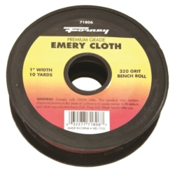 CLOTH EMERY 320GRIT 1INX10YARD