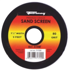 SAND SCREEN 80 GRIT 1-1/2X9FT