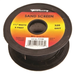 SAND SCREEN 320 GRIT 1-1/2X9FT
